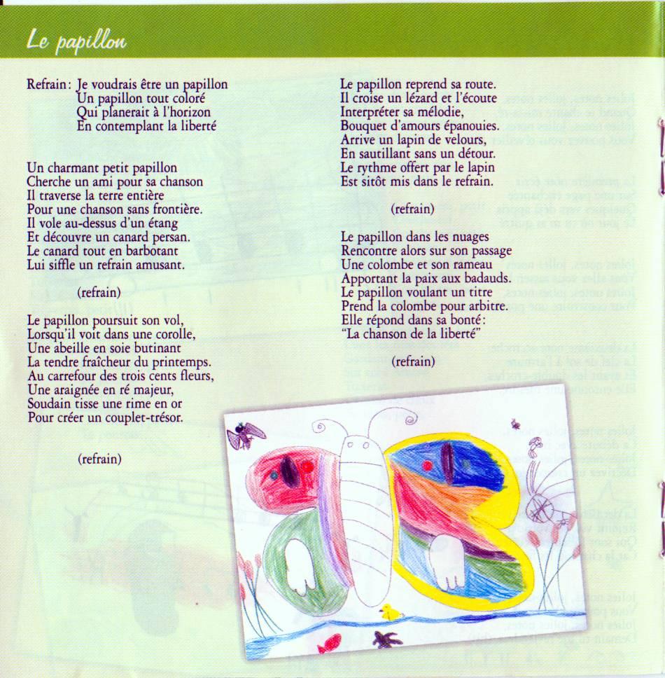 Paroles: chansons pour les enfants - 3